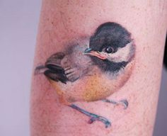 This water colour tattoo is so beautiful