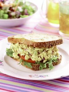 Chickpea avocado egg salad sandwich foodgawker post image for curried chicken salad sandwich recipe courtesy of alices tea cup forumfinder Images