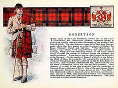 History of Clan Robertson....(my family! )