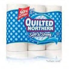 Win a Year's Supply of Quilted Northern Bath Tissue