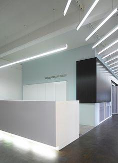 Joussen Karliczek Advertising Agency, Schorndorf , Germany designed by Ippolito Fleitz Group Architects