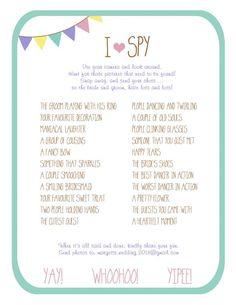 Colourful DIY Fan Program (Digital Files) :  wedding brown ceremony diy fan programs i spy inspiration pink programs purple teal yellow Program Back Compressed 2