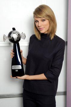Taylor Swift named IFPI global recording artist of 2014