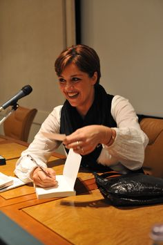 Barbara Benedettelli - Presentazione di Vittime per Sempre a Rimini - Foto di Pier Andrea Morolli