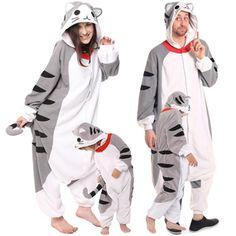 Matching Family Pajamas. Grey Chi s Cat Onesies Christmas Family Costume  Kigurumi Pajamas 8d5c8ee13