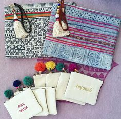 DIY Fashion Ideas – What you Need to be Creative – Designer Fashion Tips Diy Fashion, Fashion Bags, Style Fashion, My Bags, Purses And Bags, Pochette Diy, Diy Clutch, Ethnic Bag, Diy Accessoires