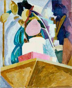 Vanessa Bell 'Still Life on Corner of a Mantelpiece', 1914 © Estate of Vanessa Bell, courtesy Henrietta Garnett