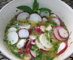 Picado de Rábano (radish salad) One of our May 2013 featured Guatemalan recipes.