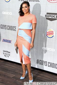 Rosario Dawson at The Spike TV Guys Choice Awards 2014