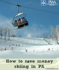 How to save money skiing in PA