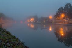 Foggy Erie Sunrise