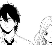 Inspiring image black and white, couple, love, manga, manga boy, manga cap, manga caps, manga couple, manga girl, monochrome, romance, shoujo, hibi chouchou #2379318 by Maria_D - Resolution 500x292px - Find the image to your taste