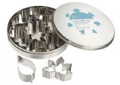 Ateco 4852 Plain Edge Leaf Cutters in Assorted Leaf Shapes, Stainless Steel, 7 Pc Set Leaf Cookies, Cut Out Cookies, Cake Decorating Shop, Halloween Cookie Cutters, Steel Cutter, Cupcake Shops, Cookie Cutter Set, Set Cookie, Fondant Decorations