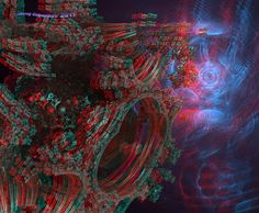 Wormhole Anaglyph 3D Stereo by Osipenkov on deviantART