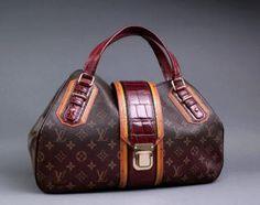 Louis Vuitton Monogram Mirage Griet Exotic Bag