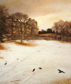 John Everett Millais - Christmas Eve