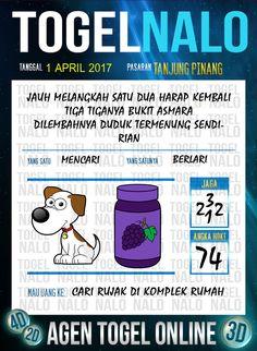 Kode Wangsit 4D Togel Wap Online TogelNalo Tanjung Pinang 1 April 2017
