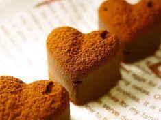 バレンタイン♥レンジで簡単♪生チョコの画像