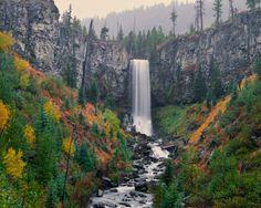 Tumalo Falls, near Bend, Oregon