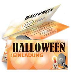 Gestalte jetzt bei www.onlineprintxxl.com deine eigenen Halloween Einladungen. #halloween #einladung #einladungskarten