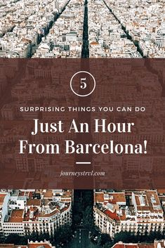 5 Surprising Things You Can Do, Just An Hour From Barcelona! Barcelona Travel, Barcelona Beach, Barcelona Food, Barcelona Spain, Winter Wedding Destinations, Destination Wedding Locations, Grand Teton National Park, Rocky Mountain National Park, Vacation Places