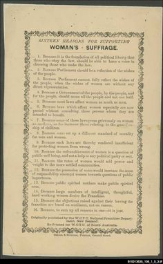 The Woman's Christian Temperance Union of New Zealand produced this leaflet, however as you can see this one was printed in Adelaide. State Library of South Australia Flipped Classroom, Women In History, Lesson Plans, Curriculum, New Zealand, Presentation, About Me Blog, Politics