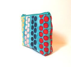 Small  Pouch Small Wallet  Small Card Pouch  by handjstarcreations, $8.50