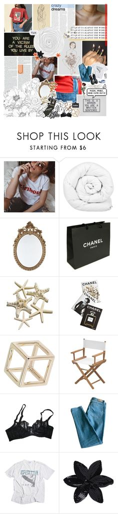 """""""4   """"the boys and girls in the clique"""""""" by sxmpitxrnal ❤ liked on Polyvore featuring Brinkhaus, Chanel, Assouline Publishing, Flora Gold, Topshop, Skagerak, Agent Provocateur, Sandro, Dr. Martens and ASOS"""