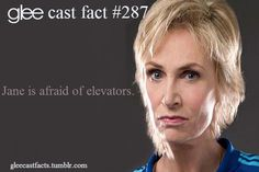 This is funny because in the hurt locker Sue locks Klaine in a fake elevator