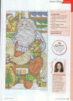 santa countdown chart 2 of 2