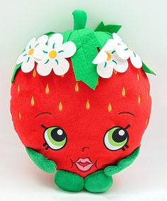 Look at this Shopkins Strawberry Kiss 13'' Plush Toy on #zulily today!