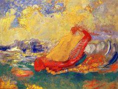 Odilon Redon -La Naissance de Vénus I,1910