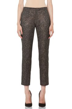 Theyskens' Theory Padgette Foldy Pants in Gold