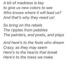 La La Land lyrics