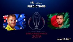 The 26th match of the World Cup 2019 will feature Australia facing Bangladesh at Trent Bridge, Nottingham on June 20. Keep reading to find out the ICC World Cup 2019 Match 26 Aus vs Ban Match Prediction. Australia beat Sri Lanka in the last game by a huge margin. Aaron Finch was the star of […] Icc Cricket, Last Game, Cricket World Cup, Who Will Win, Trafford, Nottingham, Get Over It, Sri Lanka, Victorious