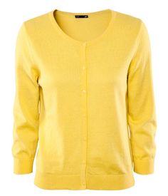 HM cardigan, yellow $17.95