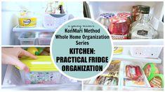 KonMari Organization | Kitchen: Fridge BEFORE & AFTER