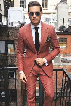 Very Sharp Suit! Ready To Go By Aleks Musika (Designer of Musika Frére).