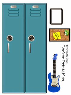 My Froggy Stuff: Printable Doll Lockers that Open!