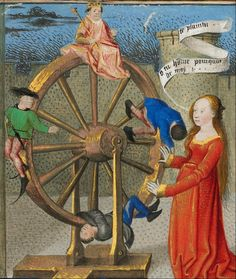 Philosophy Consoling Boethius and Fortune Turning the Wheel, no further info.