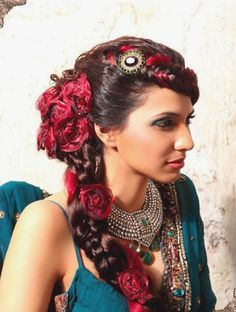 Romani hairstyle