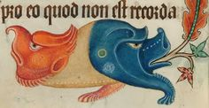 Hybrid from The Luttrell Psalter, 14th century. British Library, London