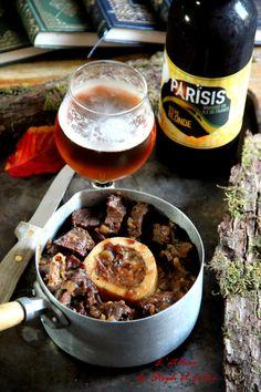 Joue de bœuf à la bière et au miel