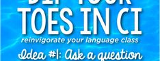 Dip your toes in CI: Ask a question - The Comprehensible Classroom Comprehensible Input, Cognates, French Education, Simple Line Drawings, Second Language, New School Year, Teaching Spanish, S Pic, Continue Reading