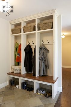 mud room entry way | Lindsay Schultz – Kitchens and Cabinetry