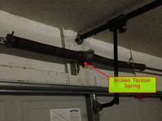 Ways to Save Money - Replace Garage Door Torsion Spring on Your Own - 5 Minute Money Tips