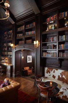 55 идей оформления арки в квартире своими рукам (фото) http://happymodern.ru/arka-v-kvartire-svoimi-rukam/ Роскошная домашняя библиотека в дереве с огромными арками