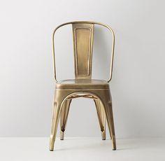 Vintage Steel Desk Chair