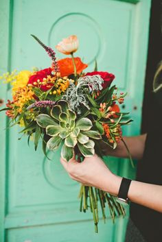Floral cheery bunch