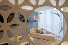 Penthouse in Johannesburg, by SAOTA  and OKHA Interiors